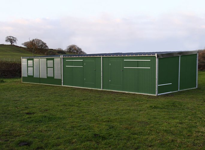 Next Gen. Large Metal Sheds