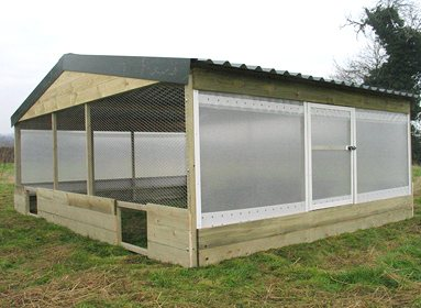 Night shelters for large sheds